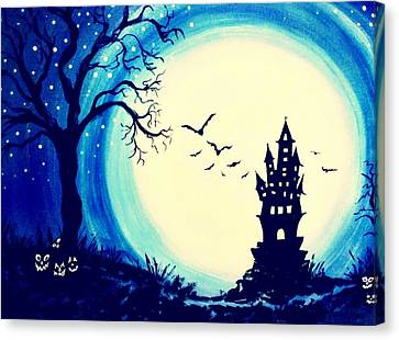 Spook House Canvas Print