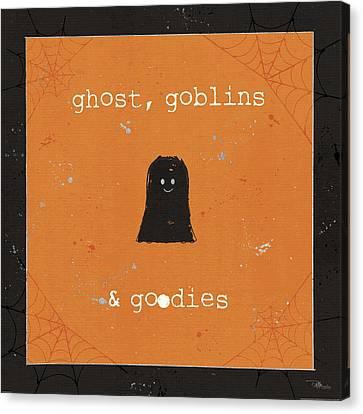 Spooky Cuties IIi Canvas Print by Pela Studio