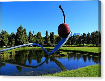 Spoonbridge And Cherry 3 Canvas Print