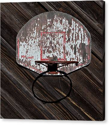 Basketball Collection Canvas Print - Sports - Basketball Hoop by Art Block Collections