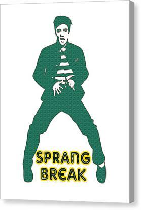 Sprang Break Canvas Print by Adam Asar