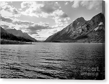 Spray Lake Canvas Print