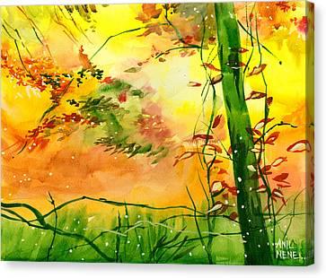 Spring 1 Canvas Print by Anil Nene