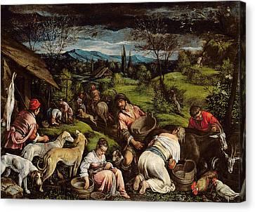 Spring, 1576 Canvas Print