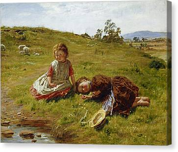 Spring Canvas Print by William McTaggart