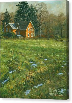 Spring Canvas Print by Michael Swanson