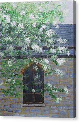 Spring At Grace Church Canvas Print