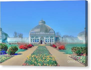 Spring At The Gardens Canvas Print by Kathleen Struckle