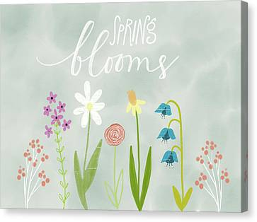 Spring Blooms Canvas Print by Katie Doucette