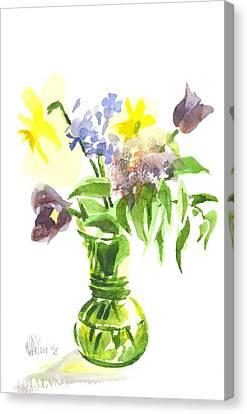 Spring Bouquet IIi Canvas Print by Kip DeVore