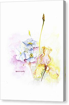 Spring Bouquet Canvas Print by Rachel Lowry
