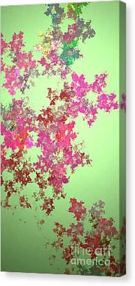 Spring Bouquet  Canvas Print by Tatjana Popovska