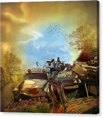 Spring Cleaning - Landscape Canvas Print by Jeff Burgess