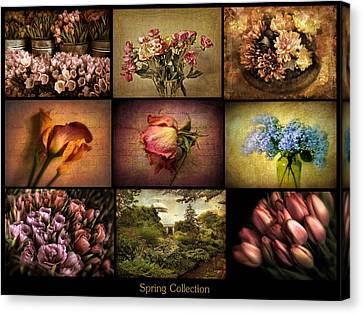 Spring Collection Canvas Print by Jessica Jenney