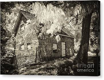 Spring Creek Mill Canvas Print