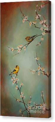 Spring Dream Canvas Print by Lori  McNee