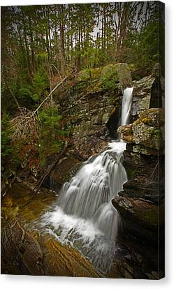 Kent Connecticut Canvas Print - Spring Falls by Karol Livote
