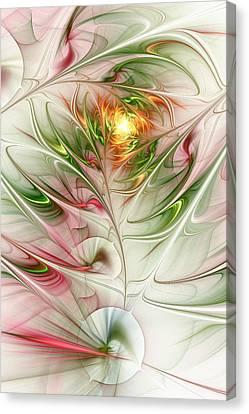 Spring Flower Canvas Print by Anastasiya Malakhova