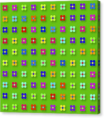 Spring Flower Panel Canvas Print