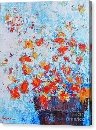 Interior Still Life Canvas Print - Spring Flowers Iv by Patricia Awapara