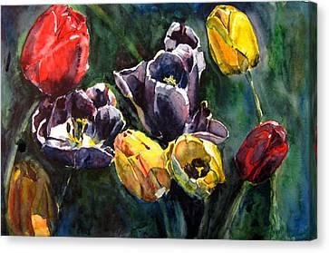Spring Follows Winter Canvas Print