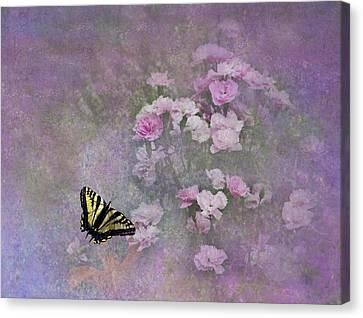 Spring Garden Canvas Print by Diane Schuster