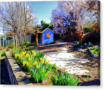 Spring Garden Canvas Print by Paul Svensen