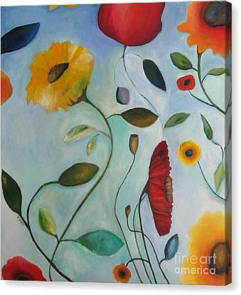 21st Century Canvas Print - Spring Garden by Venus