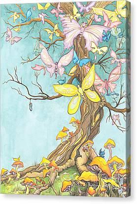 Spring Growth Canvas Print by Priscilla  Jo