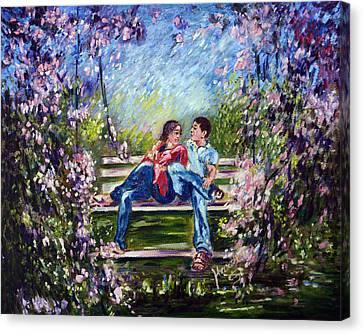 Spring Canvas Print by Harsh Malik