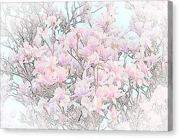 Canvas Print featuring the photograph Spring Has Arrived I by Susan  McMenamin