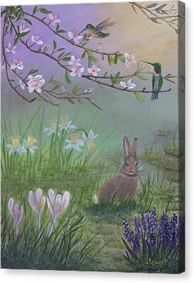 Spring Has Sprung Canvas Print