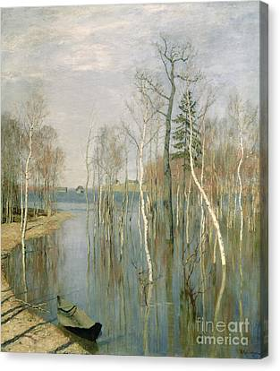 Spring High Water Canvas Print