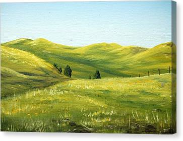 Spring In California Canvas Print by AnnaJo Vahle
