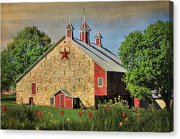 Spring In Juniata County Canvas Print by Lori Deiter