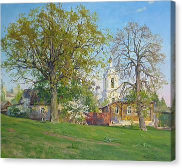 Lanscape Canvas Print - Spring In Kaluga by Victoria Kharchenko