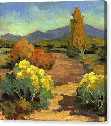 Spring In Santa Fe Canvas Print