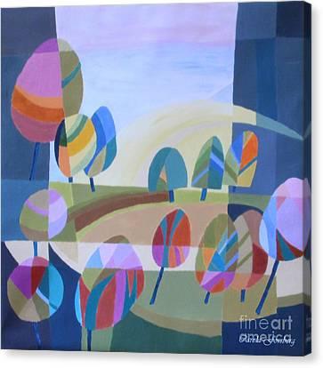 Spring In The Air Canvas Print by Carola Ann-Margret Forsberg