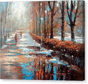 Spring Is Coming Canvas Print by Dmitry Spiros