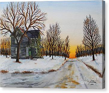 Jack Brauer Canvas Print - Spring Is Coming by Jack G  Brauer