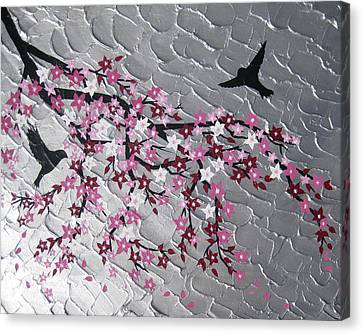 Spring Is Here Canvas Print by Cathy Jacobs