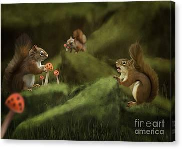Spring Canvas Print by Ivan  Pawluk