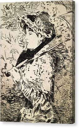 Spring   Jeanne Canvas Print
