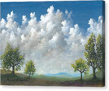 Spring Canvas Print by Kenneth Stockton