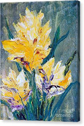 Spring Love Canvas Print by Teresa Wegrzyn