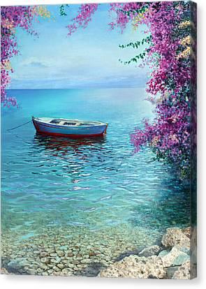 Spring Canvas Print by Miki Karni