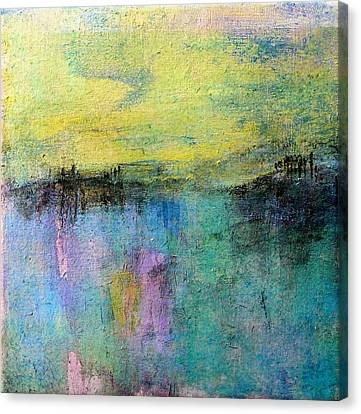 Canvas Print featuring the painting Spring Morning by Jim Whalen