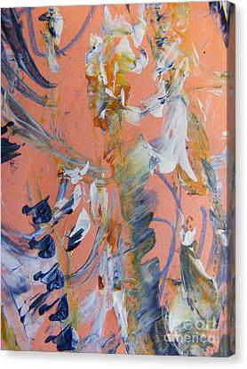 Canvas Print featuring the painting Spring by Nancy Kane Chapman