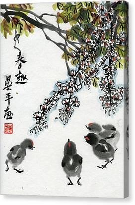 Spring Canvas Print by Ping Yan