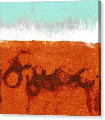 Rain Canvas Print - Spring Rains by Carol Leigh